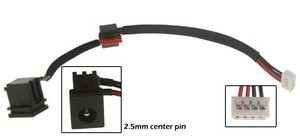 Toshiba Satellite L305 dc power jack שקע טעינה טושיבה