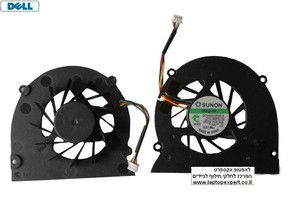 מאוורר למחשב נייד דל Dell XPS M1330 M1310 M1318 PP25L Cooling Fan HR538 , MM911