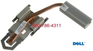 Dell Inspiron 1545 Cpu heatsink for Intel processors גוף קירור למחשב נייד דל