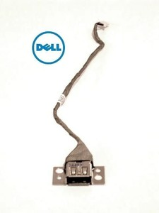 Dell Inspiron 1545 USB Port with Cable החלפת שקע  דל