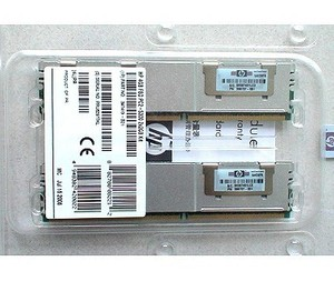 זיכרון לשרת HP 4GB Fully Buffered DIMM PC2-5300 2x2GB DDR2 Memory Kit 397413-B21
