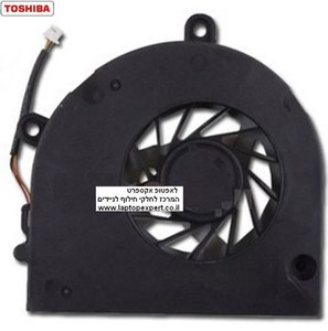 מאוורר למחשב נייד טושיבה Toshiba Satellite L670 L670D C660 C665 C655 C650 Cpu FAN DC2800091N0 / KSB06105HA