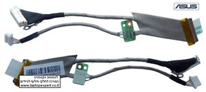 כבל מסך למחשב נייד אסוס Asus N80 N81 N80V N81V Lcd Screen Cable 1422-00AT0008C04000013 , 1422-00AT0008C0101001952