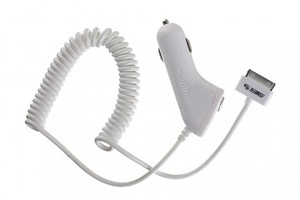 ToiKo Car Charger 1A for iPhone 4 with USB Port