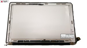 "גב מסך למחשב נייד אפל מקבוק אייר MacBook Air 11.6"" Model A1370 2010 with Hinges, LCD cable, webcam, WiFi cable -  MC505LL/A"