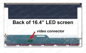 החלפת מסך למחשב נייד Laptop 16.4 Led Screen N164HGE-L11 , N164HGE-L21, LP164WD2-TLA1
