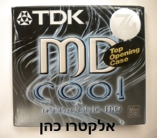דיסק לצריבה mini cd Tdk