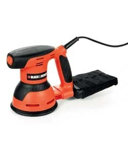 "מלטשת אקצנטרית ""5 דגם KA198 תוצרת BLACK&DECKER"