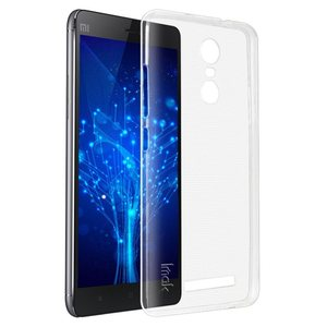 iTechCase E Line כיסוי ל Xiaomi Redmi Note 3 שקוף