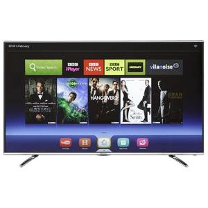 טלויזיה 55 LTDN55K390XWAU3D Hisense SMART TV LED FULL HD