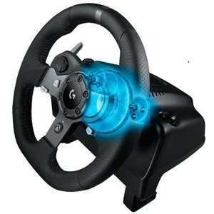 הגה מרוצים LogiTech Driving Force G920
