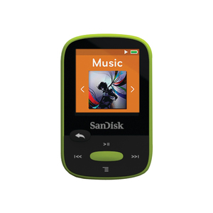 נגן ספורט SANDISK SANSA CLIP SPORTS 8GB לימון