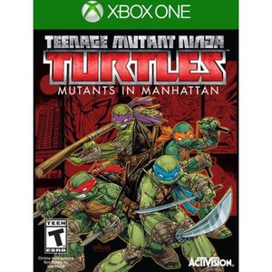 xBox ONE Teenage Mutant Ninja Turtles