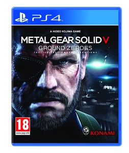 Metal Gear Solid V Ground Zeroes PS4 סוני