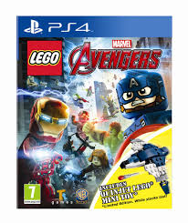 LEGO Marvel Avengers PS4 סוני