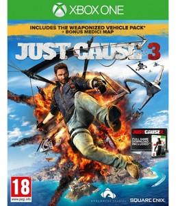 משחק XBOX ONE - JUST CAUSE 3 מיקרוסופט