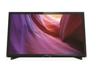 "טלוויזיית פיליפס Philips 24"" Slim LED TV דגם:24phh4000"
