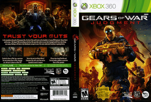 משחק X360 GEARS OF WAR JUDGEMENT מיקרוסופט