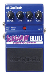 פדל אפקט overdrive screeaming blues