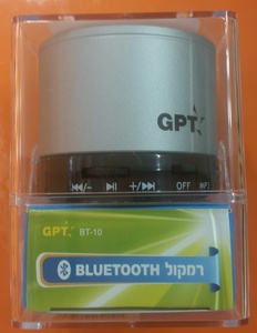 רמקול BLUETOOTH BT-10