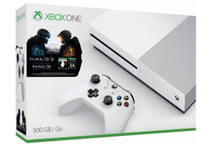Microsoft XBOX ONE S 1T Halo 5  Bundle