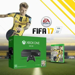 Microsoft Xbox One 500GB FIFA 17 Bundle