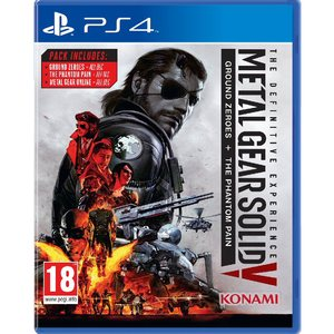 PS4 Metal Gear Solid V : The Definitive Experience