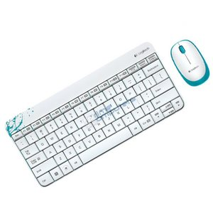 סט מקלדת ועכבר Logitech Wireless Combo MK240