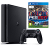 קונסולה SONY PlayStation 4 slim כולל משחק 1TB PES17