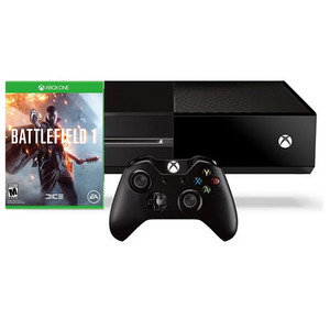 קונסולה Microsoft XBOX ONE 500GB כולל משחק Battlefield 1