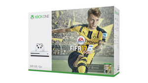 Xbox One S Consola 500GB FIFA17 Bundle יבואן רשמי Microsoft