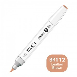 מרקר TOUCH BRUSH BR112 LEATHER BROWN