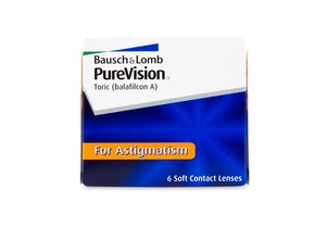 PureVision Toric 6pck עדשות חודשיות Bausch & Lomb