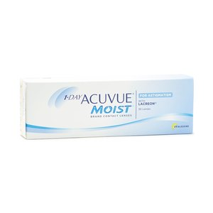 One Day Acuvue Moist For Astigmatism 30pck עדשות יומיות Johnson & Johnson