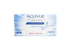 Acuvue Oasys For Astigmatism 6pck עדשות שבועיות/דו-שבועיות Johnson & Johnson