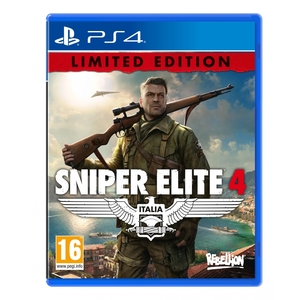 SNIPER ELITE 4LIMITED EDITION PS4 סוני