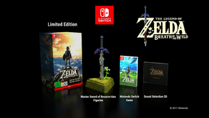 The Legend of Zelda: Breath of the Wild Limited Edition Switch במלאי!