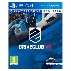 DRIVECLUB - PS4 VR Sony