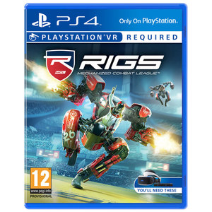 RIGS Mechanized combat league - PS4 VR Sony