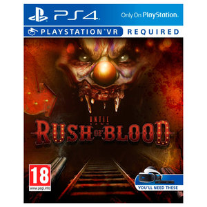 Until Dawn: Rush of blood - PS4 VR Sony