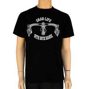 Grab Life With Both Hands-Bike Shirt Bankussi