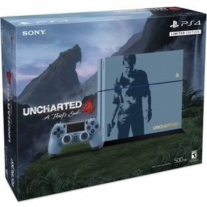 Sony Playstation 4 500GB Uncharted