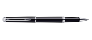Waterman black hemisphere rollerball ווטרמן