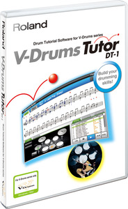 dt1,roland,tutor,drums,software