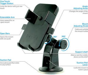 One-Touch Universal Car Mount Holder