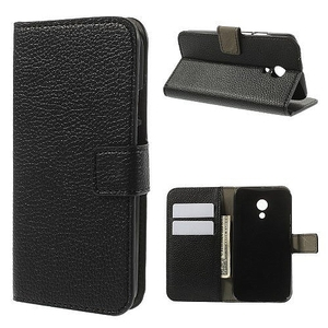 כיסוי למוטו G2 שחור iTechCase Credit Card Wallet