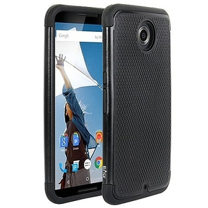 כיסוי לנקסוס 6 iTechCase Premium Tough שחור