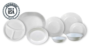 סט 18 חלקים דגם Winter Frost White 00n CORELLE