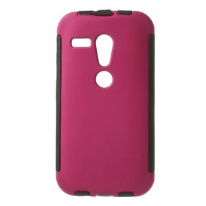 iTchCase Hybrid Shell כיסוי למוטו G ורוד