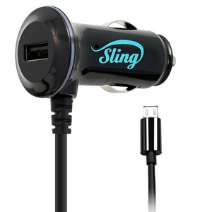 Sling Dual Charger 2A מטען רכב ל LG G4